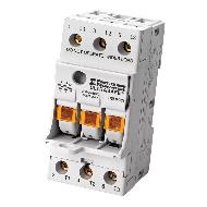 Ferraz Shawmut USFMCCI 600 VAC 30 Amp 3-Pole Fingersafe Fuse Holder