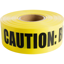 "CULLY 94606 Yellow ""BuriedElectrical Line"" Tape, 3"" x 1000'"