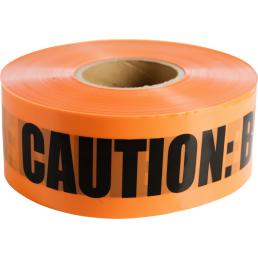 "CULLY 94618 Orange ""Buried FiberOptic Telephone"" Tape, 6"" x 1000'"