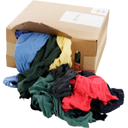 Minerallac 37590 25 lb Box Recycled Colored Tee Shirt