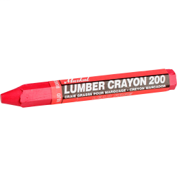 CULLY 67400 Red Lumber Crayon