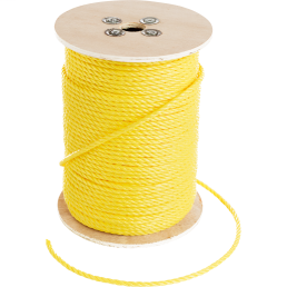 CUL 67824 YELLOW POLY ROPE 1/4X5000
