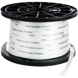 """Cully 67684 1/2"""" x 3000' Pull Line Measuring Tape, Polyester, 1250lb"""