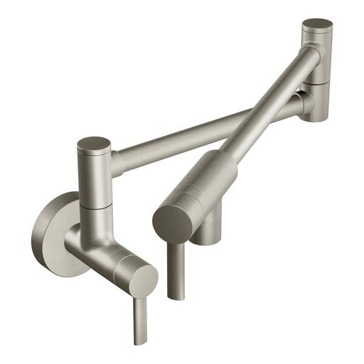 Modern Pot Filler Spot resist stainless two-handle kitchen faucet