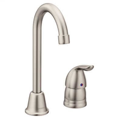 Chateau Spot resist stainless one-handle high arc bar faucet