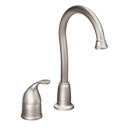 Camerist Spot resist stainless one-handle high arc bar faucet