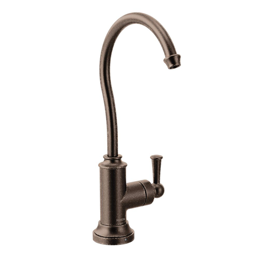 Sip Traditional Oil rubbed bronze one-handle high arc beverage faucet