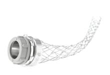 Molex Incorporated 36508 3/4 Inch NPT Insulated Zinc Plated Steel Straight Wide Range Grip