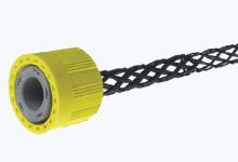 """MAX-LOC/Watertite Cord Grips, 3/4"""" NPT, Straight Male, Body Size F3, Cable Diameter 12.70-15.88mm (.500-.625""""), Non-Metallic"""