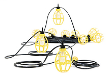 Brad Molex,302SRL,FLAT 2-WIRE STRINGLIGHT 100FT W/PLASTICG