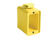 Super-Safeway Multiple Outlet Box, Extended Depth, 2-Sided, Cord Clamp, Duplex Cover Plates