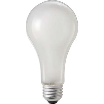 PHILIPS LAMPS 100W 120-130V A21 FR 2WR