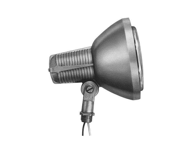 STO V4400E 75 TO 300W NATURAL ALUMINUM ENCLOSED LAMP HOLDER