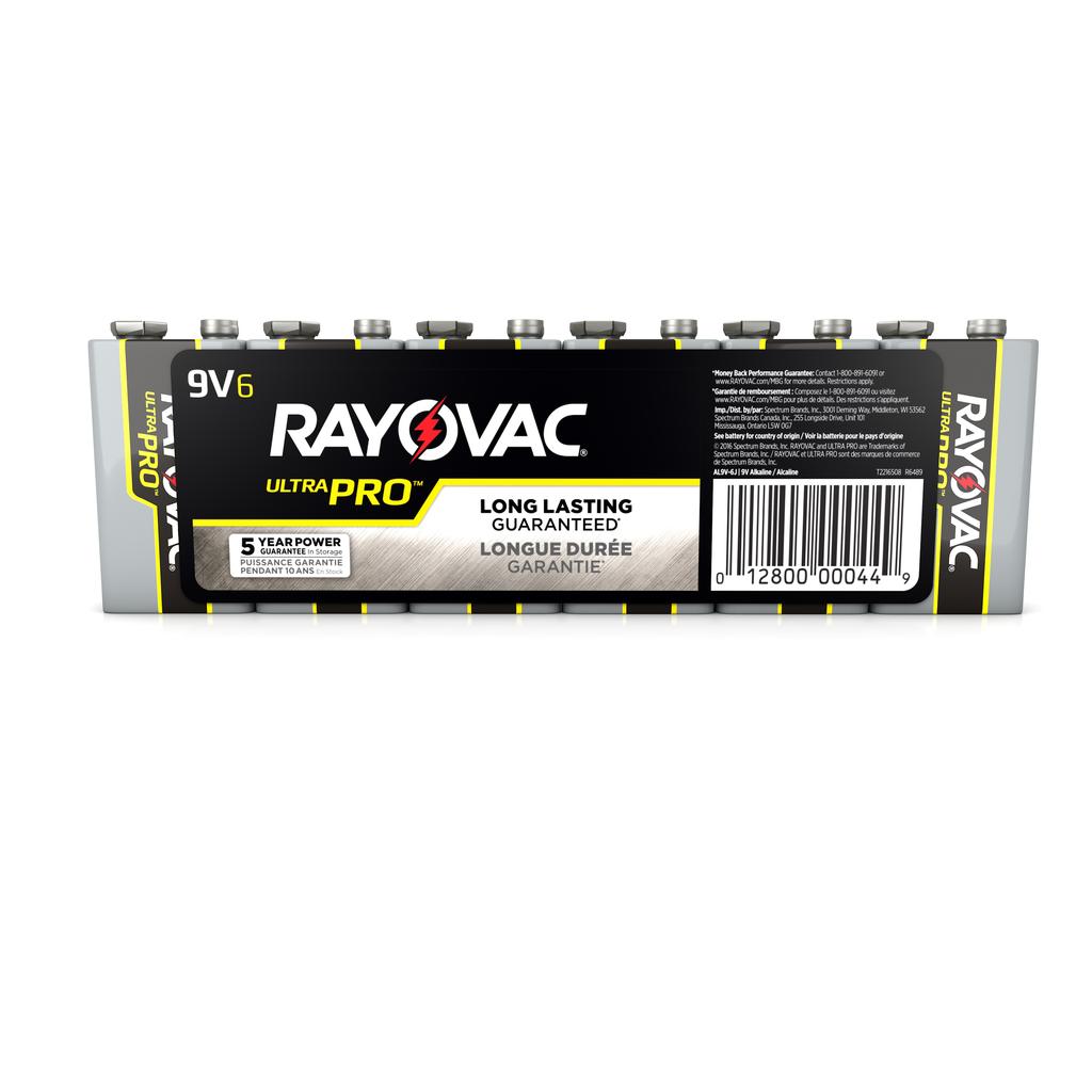 RAYOVAC AL-9V ULTRA PRO ALKALINE BATTERY