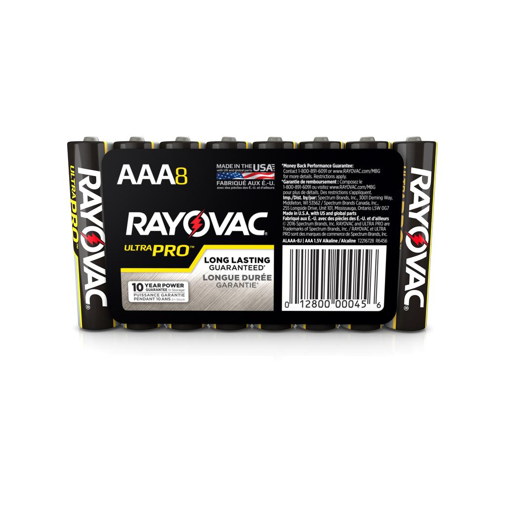 RAYOVAC AL-AAA ULTRA PRO ALKALINE BATTERY