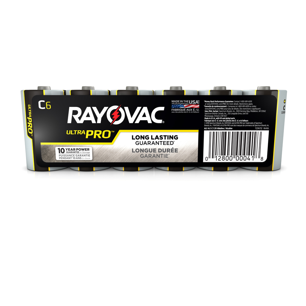 RAY-O-VAC AL-C-6J SIZE-C ALKALINE INDUSTRIAL BATTERY