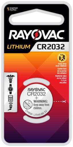 Ray-O-Vac KECR2032-1