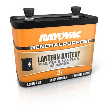 RAY-O-VAC 926C 12VOLT SCREW TERMINAL GENERAL PURPOSE LANTERN BATTERY
