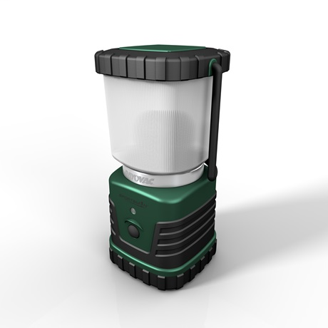 LED 4 Watt 3D 240 Lumen Area Lantern