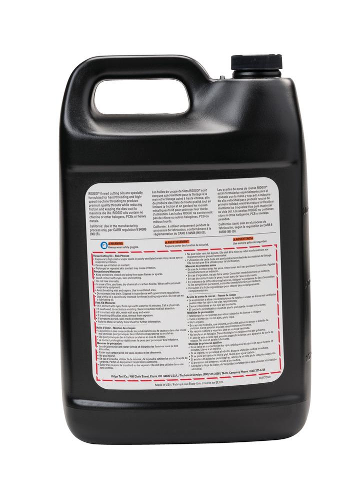 Ridgid Tools,70835,Thread Cutting Oil,RIDGID,Nu-Clear Plus,1 GAL In US,3.78 L In Metric