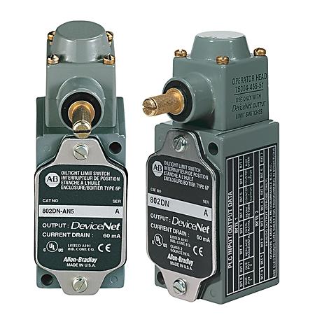Allen-Bradley 802DN-AS2 Devicenet Limit Switch