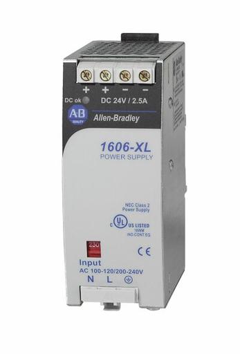 A-B 1606-XL60D 2.5AMP 60WATT POWER SUPPLY