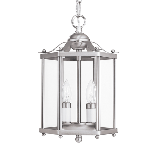 SEG 5232-962 2L HALL/FOYER BRUSHED NICKEL
