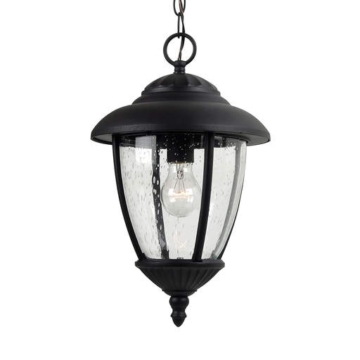 SEG 60068-12 ONE LIGHT PENDANT OUTDOOR BLK