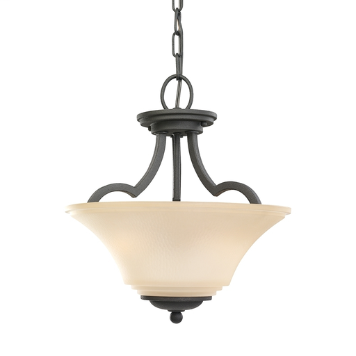 SEG 77375-839 TWO LIGHT SEMI FLUSH CONVERTIBLE