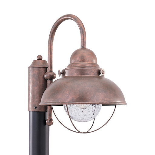 SEG 8269-44 OUTDOOR POST LANTERN 1 LIGHT