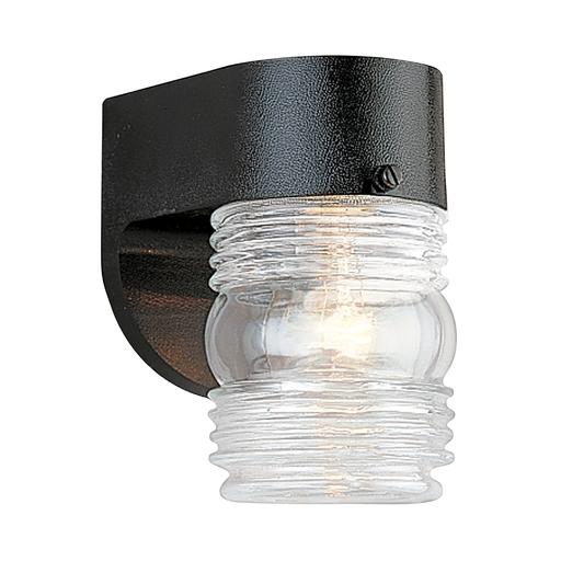 SEG 8750-12 OUTDOOR WALL 1 LIGHT BLACK/C