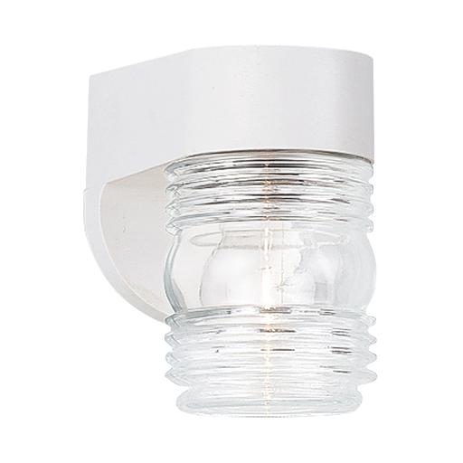SEG 8750-15 1 LIGHT OUTDOOR WALL WHITE/C