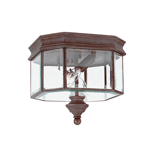 SEG 8834-08 OUTDOOR TWO LIGHT TEXTURED RUS