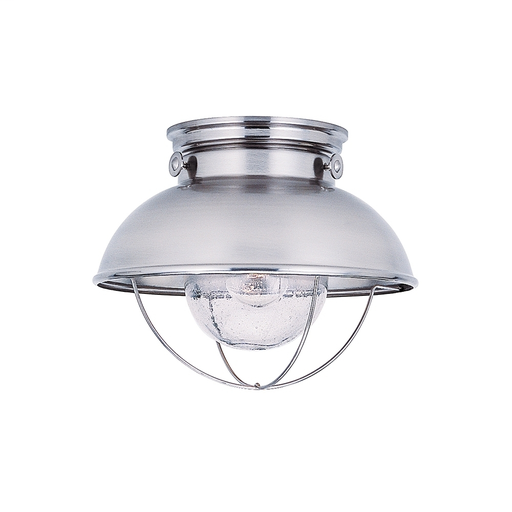 SEG 8869-98 OUTDOOR CEILING 1 LIGHT BRUS BRUSHED STAINLESS STEEL