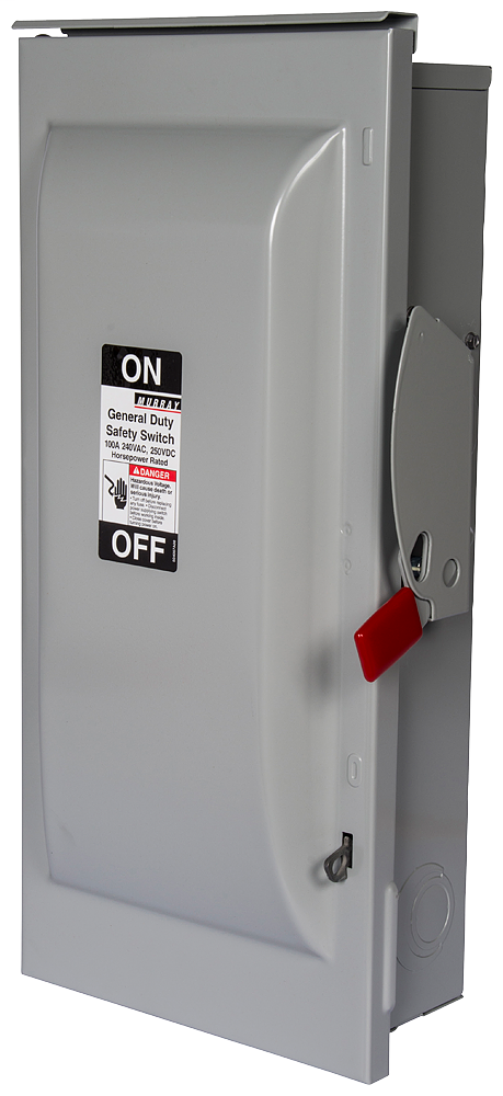 Siemens Industry GNF323R 240 VAC/250 VDC 100 Amp 3-Pole 3-Wire NEMA 3R General Duty Non-Fusible Safety Switch