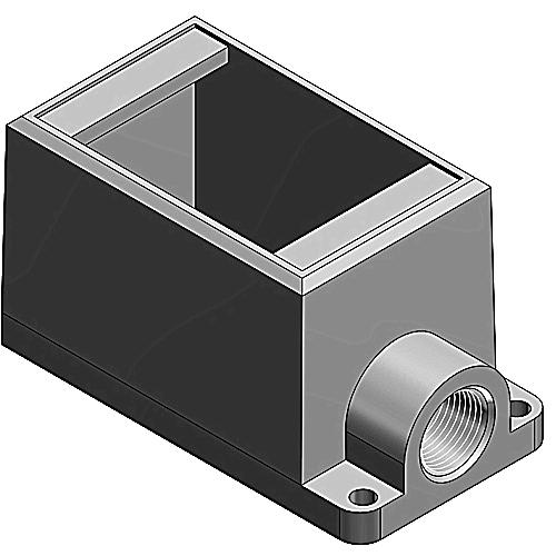 T&B FD2-TB 1G 3/4 DEEP BOX