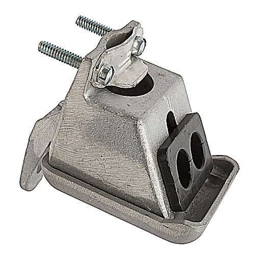 BLKB SEC2 ALUM CLAMP - ON ENTR CAP