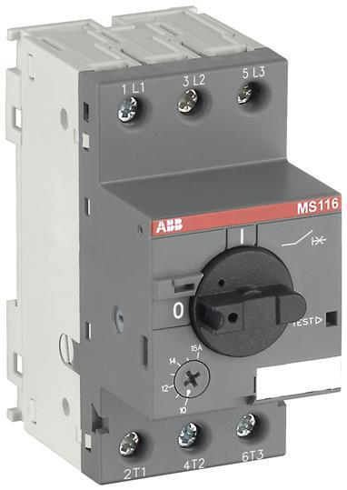 ABB MS116-1.0 3P MMP 0.63-1.0A RANG