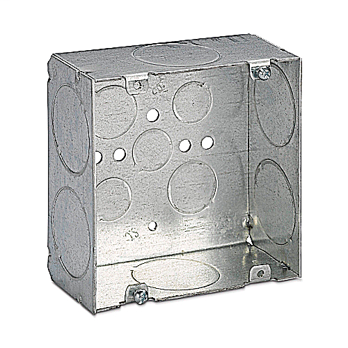 Steel City 72171-1-1/4 4-11/16 x 2-1/8 Steel Electrical Box