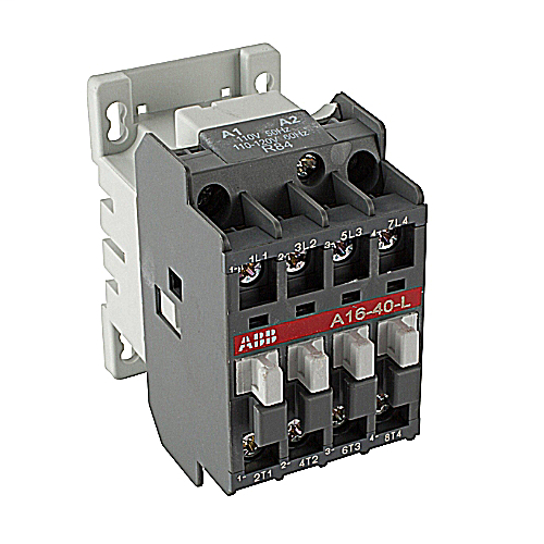 4 pole, 120V, 11x6x5 In Electrically Held Open Type Lighting Contactor
