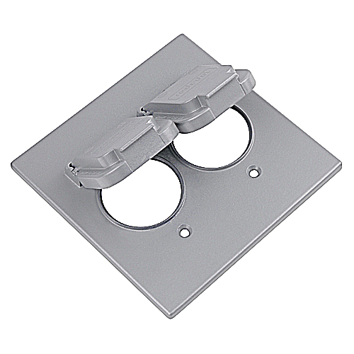 RED-DOT 2CCS 2GANG SINGLE DEVICE WEATHERPROOF COVER