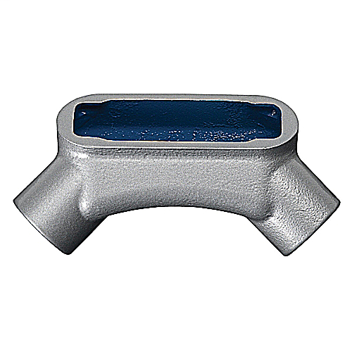 Thomas & Betts LU27 3/4 Inch Gray Iron Type LU Form7 Rigid/IMC Conduit Body Cover and Gasket