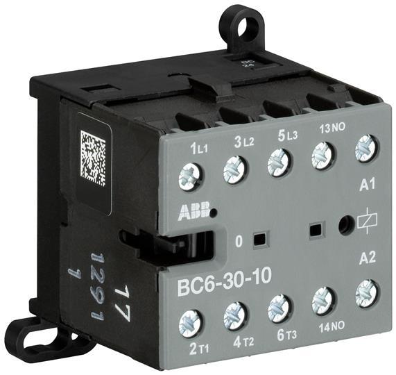ABB BC6-30-10-01 3P CONTR.24VDC,1NO