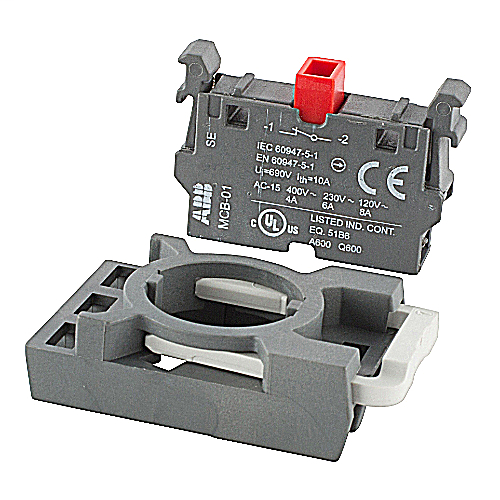 ABB MCBH-01 1NC Contact Block with Holder