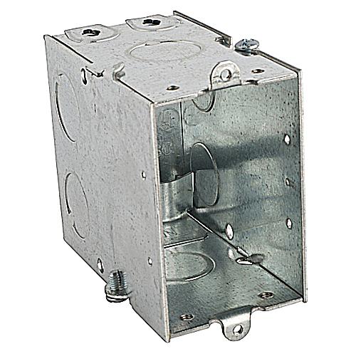 Steel City CXWLE 3 x 2 Inch 18 In Pre-Galvanized Steel Welded Switch Box