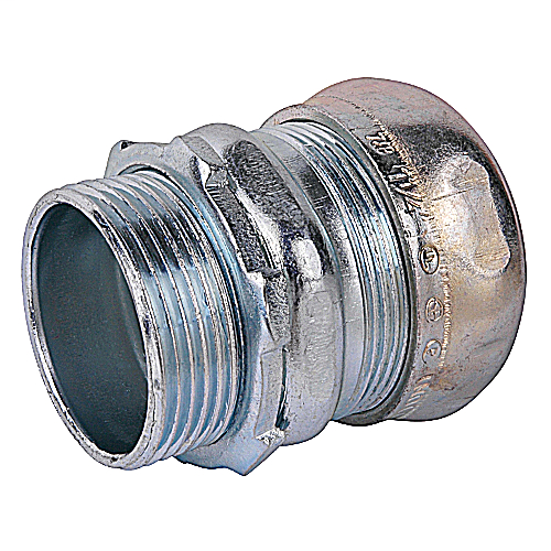 T&B TC114A 1-1/4-IN EMT STEEL COMPRESSION CONNECTOR