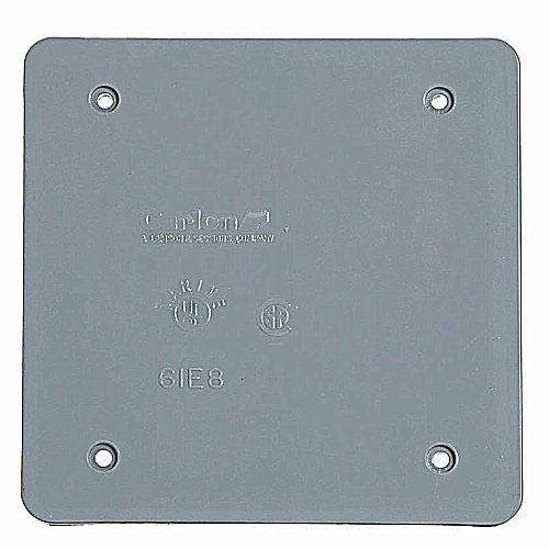 PVC WPC2BC 2G BLNK CVR BRC20-2 E9802CN-CAR