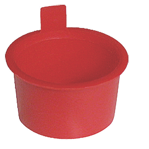 3/4IN SCH 40 PLUG RED 1 = BAG OF 50