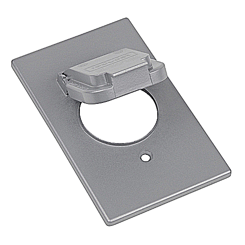 RED-DOT CCSV 1GANG SINGLE DEVICE WEATHERPROOF VERTICAL MOUNT COVER