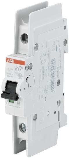 ABB SU201M-K1.6 UL489 MCB 1P K 1.6A